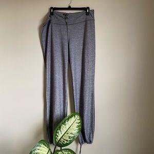 Lululemon Gray Space Dye Cinch Bottom Pants